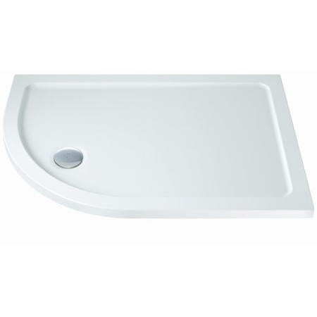 Offset Quadrant Right Hand Low Profile Shower Tray 1000 x 900mm - Slim Line
