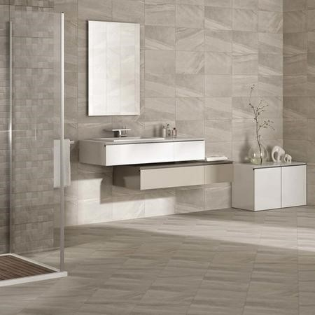 25cm x 40cm Zento Grey Wall Tile