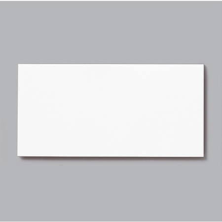 10cm x 20cm Metro Flat White Gloss Wall Tile