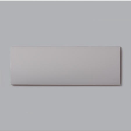 10cm x 30cm Metro Flat Grey Gloss Wall Tile