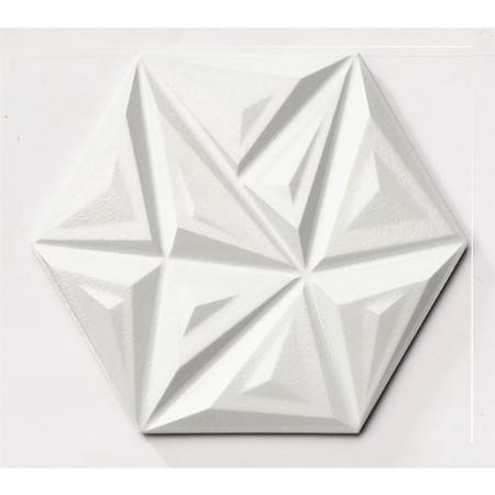 28.5cm x 33cm Suma White Wall Tile