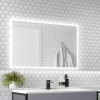 Divine Illuminated LED Bathroom Mirror with Demister Bluetooth & Shaver Socket - 700 x 500mm
