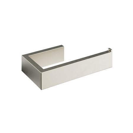 Brushed Nickel Roll Holder