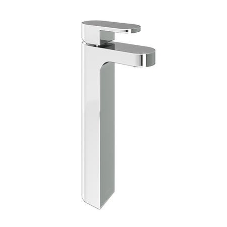 Hue Chrome Tall Basin Mixer Tap