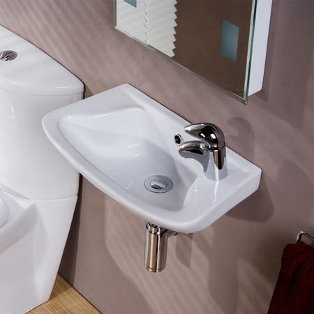 Cosmo 460mm Wallhung Cloakroom Basin