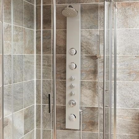 Thermostatic Shower Tower Panel - EcoWave Range