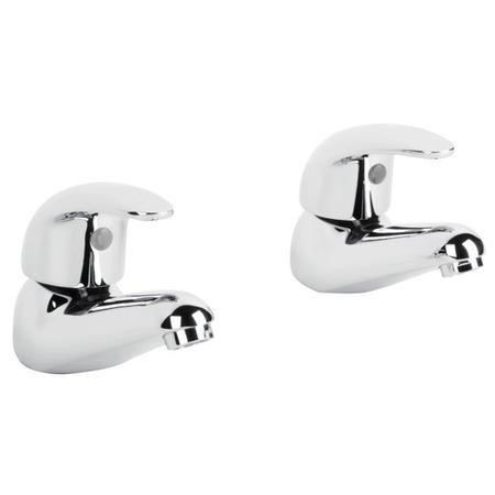 Alfa Two Tap Hole Bathroom Basin Taps