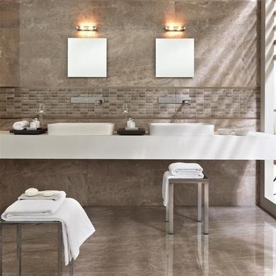 Marmi Emperador Tuana Rectified Wall Tile
