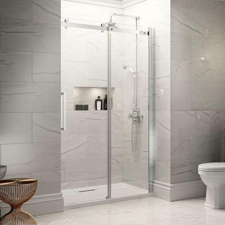 1400mm Easy Clean 8mm Sliding Door Only - Aquafloe Elite II Range