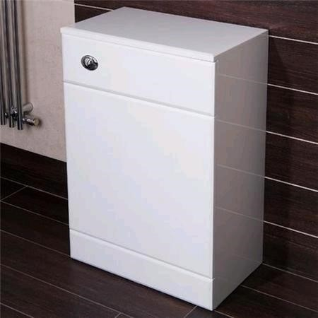 500mm WC Toilet Unit White - Windsor