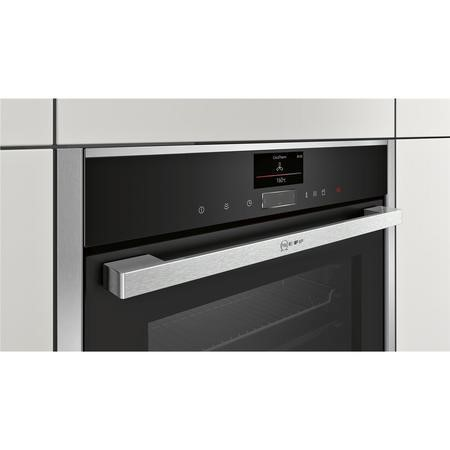NEFF C17FS32N0B Compact Built-in Steam Oven Stainless Steel