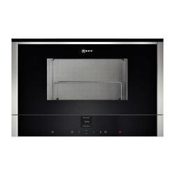 Neff C17GR00N0B 900W 21L Built-in Microwave With Grill Stainless Steel