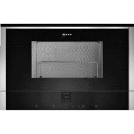 Neff C17GR01N0B 900W 21L Built-in Microwave With Grill Stainless Steel