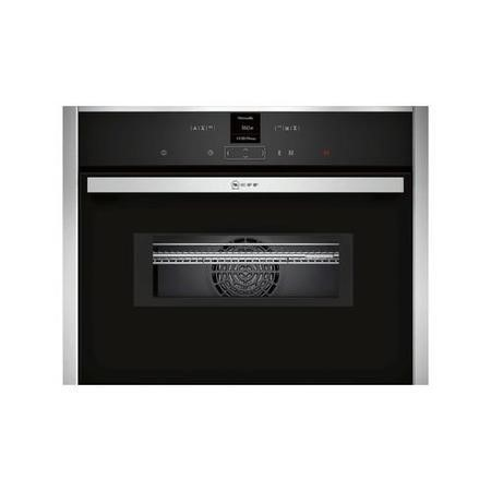 GRADE A2 - NEFF C17MR02N0B 1000W 45L Built-in Combination Microwave Oven Stainless Steel
