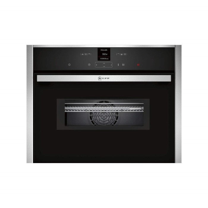 Neff C17mr02n0b 1000w 45l Built In Combination Microwave