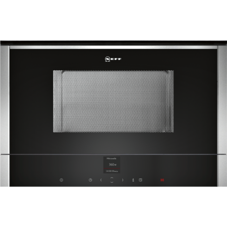 Neff C17WR00N0B N70 900W 21L Built-in Microwave Oven Stainless Steel