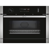 Neff C1APG64N0B N50 Compact Height Built-in Combination Microwave Oven With Steam Function - Stainless Steel