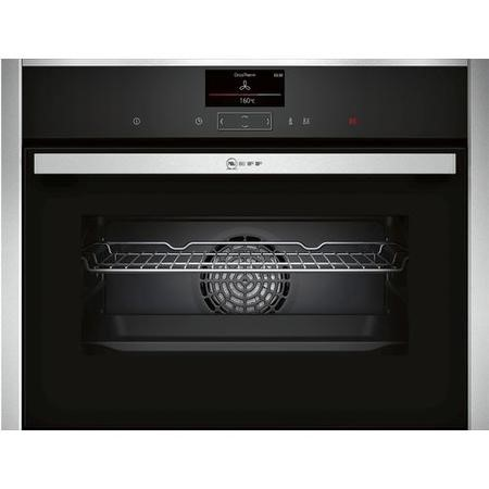 GRADE A2 - Neff C27CS22H0B N90 Compact Multifunction Single Oven With Touch Controls & Pyrolytic Cleaning