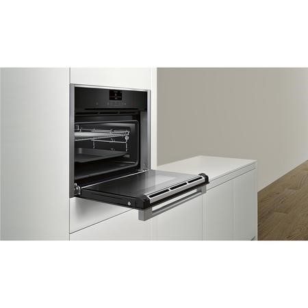 Neff C27CS22N0B Compact Multifunction Electric Built-in Single Oven Stainless Steel