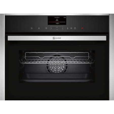 Neff C27MS22N0B 45 Litre 1000 Watt Built-in Combination Microwave Oven Stainless Steel