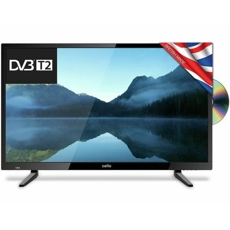 "Cello 32"" 720p HD Ready TV with Built-in DVD Player and Freeview HD"