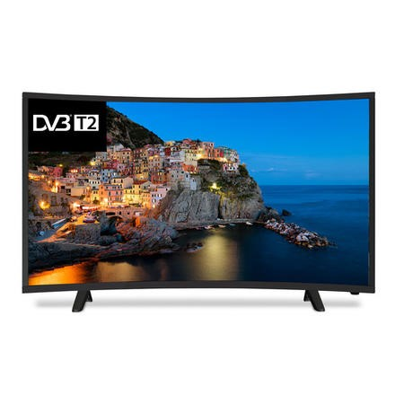 "Cello C40229T2 40"" 720p HD Ready Curved LED TV with Freeview HD"