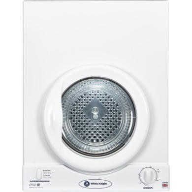 GRADE A1 - White Knight C35AW 3kg Wall-Mounted Vented Tumble Dryer-White