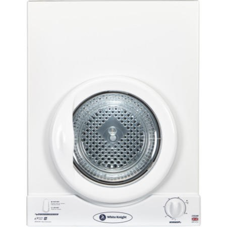 White Knight C35AW 3kg Wall-Mounted Vented Tumble Dryer-White