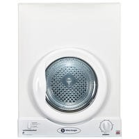 White Knight C36AW 3kg Wall-Mounted Inverted Freestanding Tumble Dryer-White