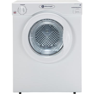White Knight C37AW 3kg Freestanding Vented Tumble Dryer White