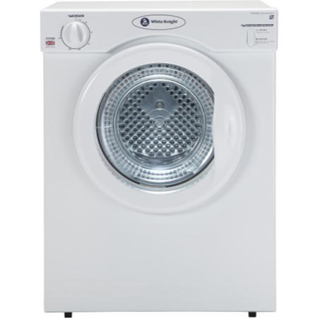 White Knight C37AW 3kg Freestanding Vented Tumble Dryer White