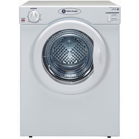 White Knight C39AW 3.5kg Freestanding Vented Tumble Dryer - White