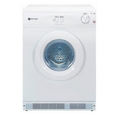 White Knight C44A7W 7kg Freestanding Vented Tumble Dryer - White