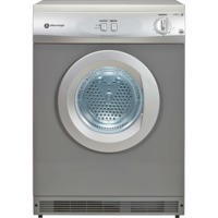 White Knight C44AS 6kg Freestanding Vented Tumble Dryer Silver