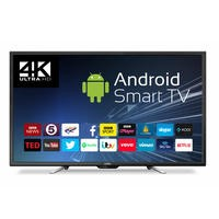 Cello 50 Inch Smart 4K Ultra HD LED TV with Freeview