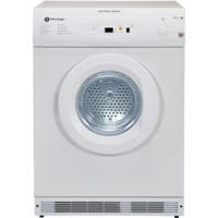 White Knight C86A7W 7kg Electronic Sensing Freestanding Vented Tumble Dryer White