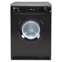 White Knight C86AB 6kg Air Vented Tumble Dryer Black