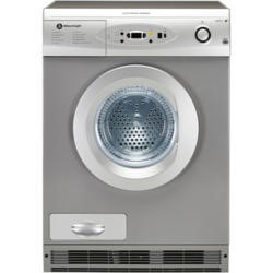 White Knight C96AS 7Kg Electronic Sensing Freestanding Condenser Tumble Dryer - Silver