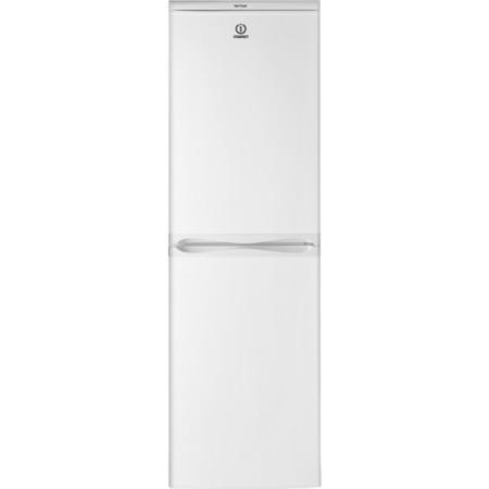 Indesit CAA55NF Frost Free 55cm Wide Freestanding Fridge Freezer - White