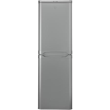 Indesit CAA55SI 55cm Wide Freestanding Fridge Freezer Silver