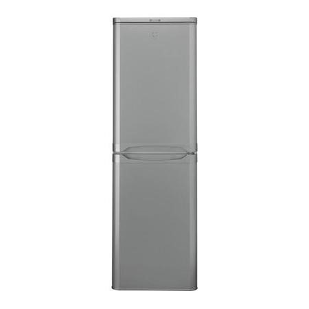 Indesit CAA55S 55cm Wide Freestanding Fridge Freezer in Silver
