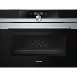 Siemens CB675GBS1B Compact Height Multifunction Single Oven With Pyrolytic Cleaning Stainless Steel