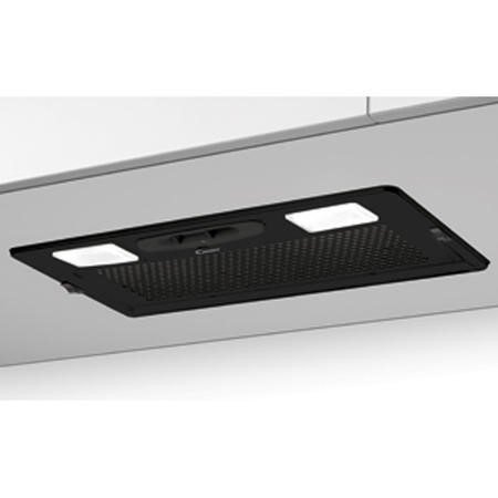 Candy CBG625X 52cm Wide Canopy Cooker Hood Grey