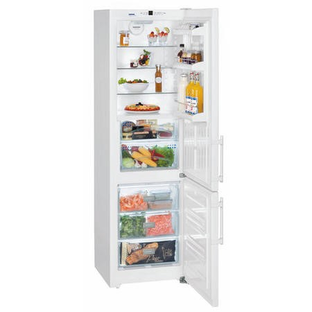 Liebherr CBN3733 Comfort 201x60cm Freestanding Fridge Freezer With BioFresh White