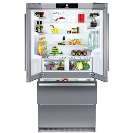 Liebherr cbnes6256 biofresh nofrost freestanding fridge freezer stainless s - Frigo liebherr side by side ...