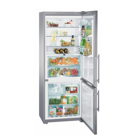 Liebherr CBNPes5167 PremiumPlus 202x75cm Freestanding Fridge Freezer With BioFresh And Ice Maker Sma
