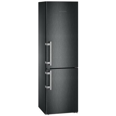 Liebherr CBNbs4815 Comfort BioFresh A+++ 201x60cm 342L Freestanding Fridge Freezer BlackSteel