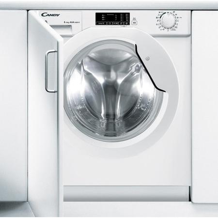 Candy Cbwd7514d 80 6kg Wash 4kg Dry 1200rpm Integrated Washer Dryer
