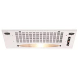 CDA CCA5WH 52.5cm Wide Canopy Cooker Hood White