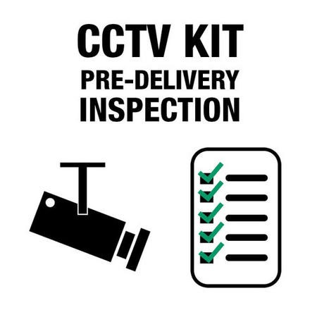 CCTV System Pre Delivery Inspection